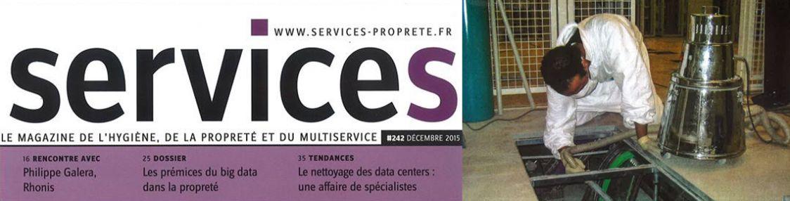 Interview Magazine Services : Le nettoyage des data centers