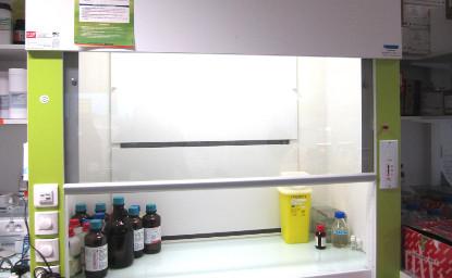 Contrôle et Qualification des sorbonnes de laboratoire