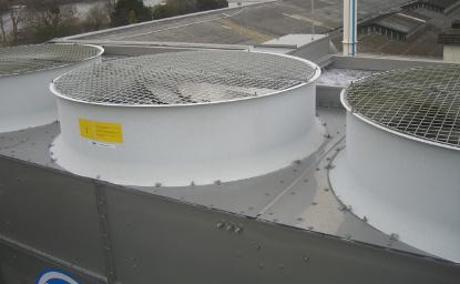 Nettoyage et désinfection de tours aéroréfrigérantes (T.A.R.)